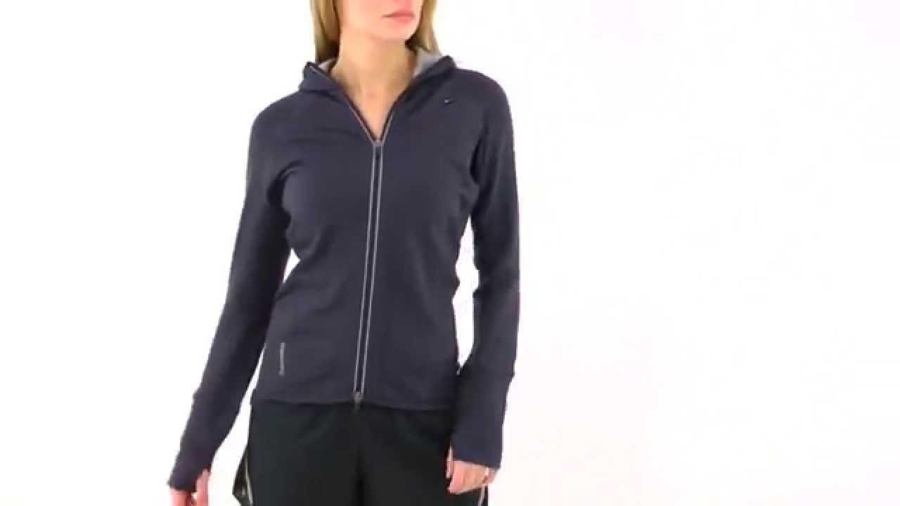 d2e088dd46 Icebreaker Women's Quantum Hooded Top | SwimOutlet.com - YouTube