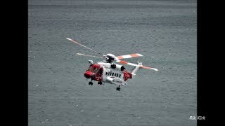 Sikorsky S92 SAR Helicopter at Scarborough thumbnail