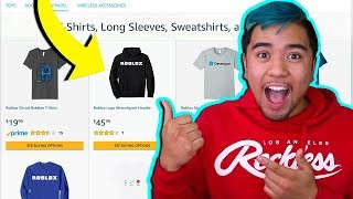 ACHETER REAL LIFE ROBLOX MERCH! (HOODIES ET CHEMISES)