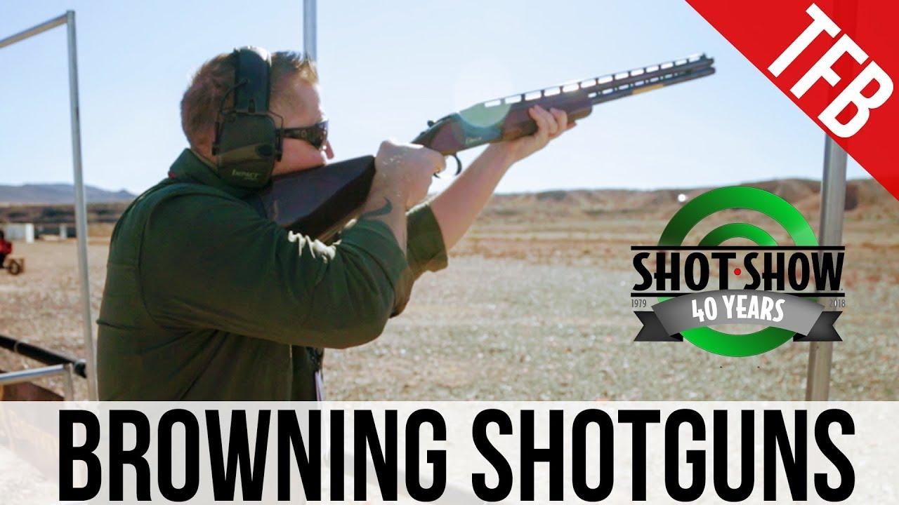 [SHOT 2018] New Shotguns from Browning