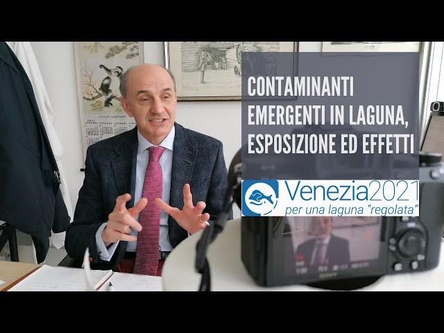 Venezia2021 - Contaminanti emergenti in laguna, esposizione ed effetti