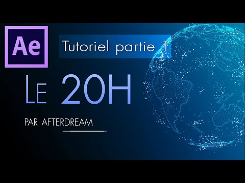 JT 20H - Tutoriel [1/2] After Effect - Trapcode Form