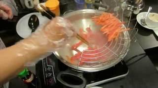 Жарим кабачки в сковороде гриль и овощи в сковороде ВОК от iCook