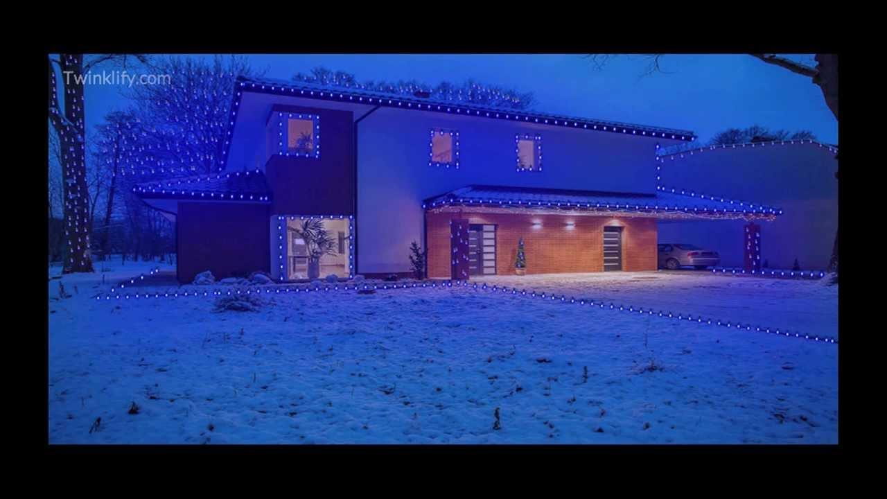 Twinklify - Virtual Christmas Lights to Music - YouTube