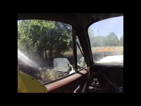 Stonewall Volunteer Fire Department - Wildcat Springs Fire 2012