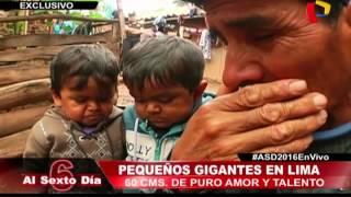 Los hermanos más pequeños del Perú realizaron un tour turístico por...