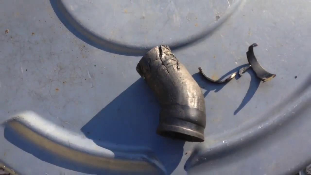 hight resolution of bmw 135i 335i 535i n54 coolant hose leak finally fixed youtube n54 engine cooling system diagram
