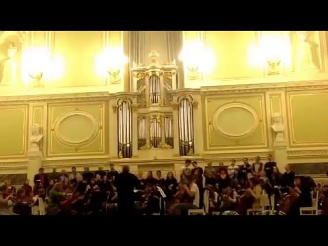 "12.12.2015 Opera Choir St.Petersburg Conservatory(rehearsal) Tchaikovsky ""Eugene Onegin"""