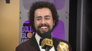 Ramy Youssef Jokes 'There You Go Michael Douglas' After Golden Globes Win