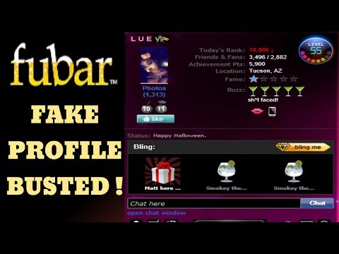 Fake Catfish Profile Busted: Lue Posing As Makeupmalrie On Fubar.com