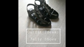 Outfit Ideas: Jelly Shoes