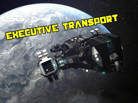 Space Engineers Executive Transport Ship Galas Youtube