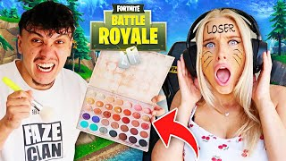 THE FORTNITE DISTRACTION CHALLENGE w/ Boyfriend FaZe Kay