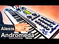 ALESIS ANDROMEDA A6 - Ambient Chillout / Space Music  【SYNTH DEMO】
