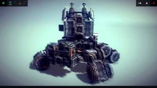 Besiege Tank, Ready to Roll Out!