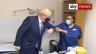 Coronavirus: Boris Johnson says 'anti-vaxxers are nuts'