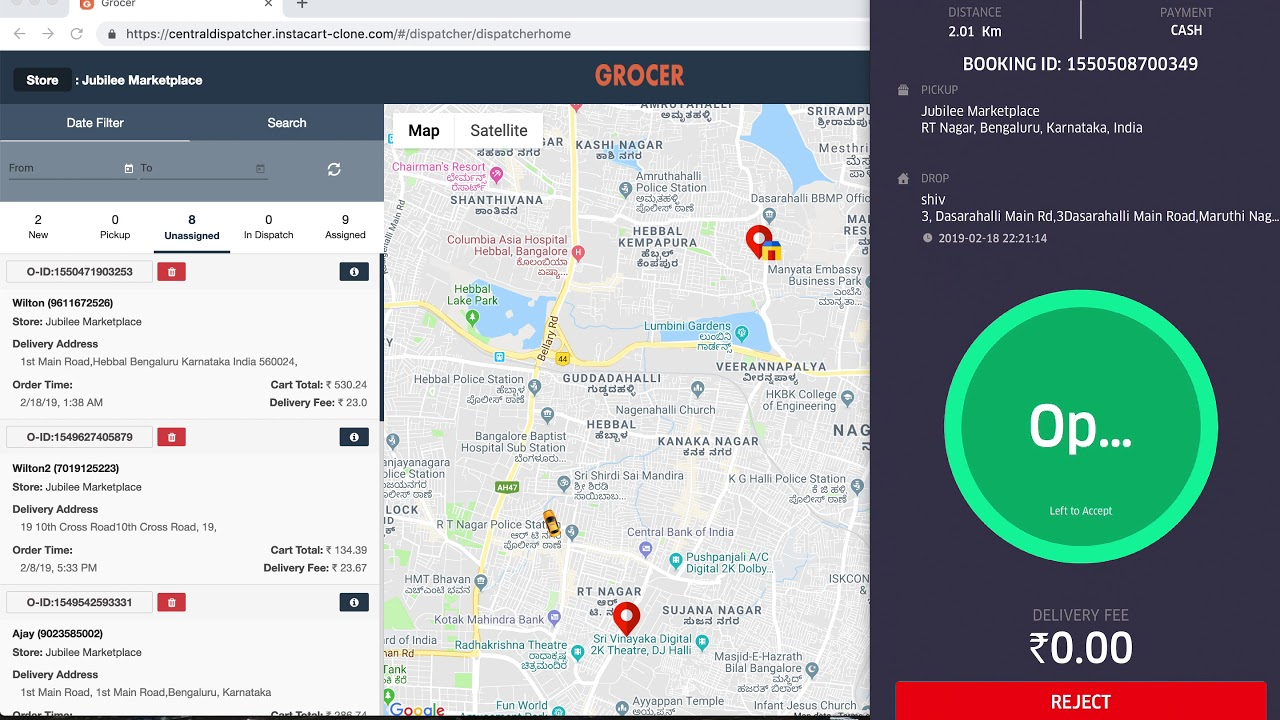 🍎Grocer | Online Grocery Shopping Software | Grocery Delivery App