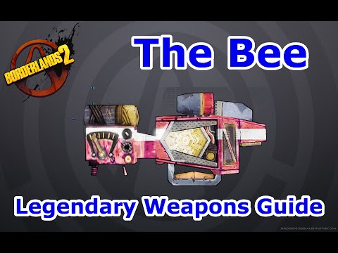 The Bee | Borderlands 2: Legendary Weapons Guide ... Borderlands 2 The Bee