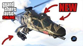 Gta 5 Online 1.42 |  Akula Helicopter Test !!! | German | Barax HD