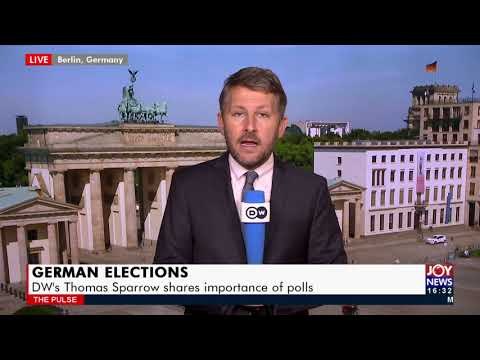 German Elections: DW's Thomas Sparrow shares importance of polls - The Pulse on JoyNews (22-9-21)