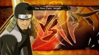 The Third Hokage VS Nine Tails : Naruto Shippuden Ultimate Ninja Storm 3 (Boss Fight Gameplay)