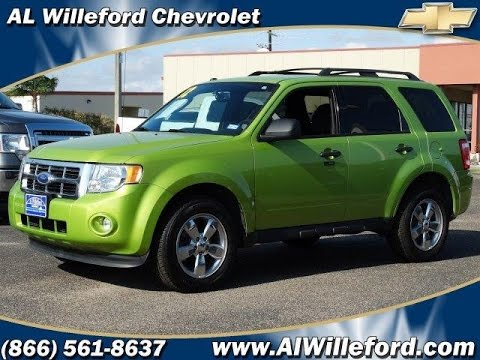 2012 ford escape xlt 4dr suv for sale al willeford chevrolet in portland tx 78374 youtube youtube