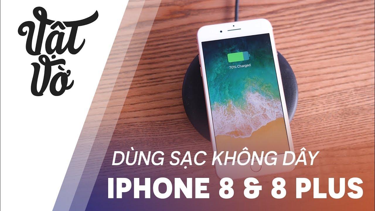 Dùng sạc không dây Samsung cho iPhone 8 và 8 Plus
