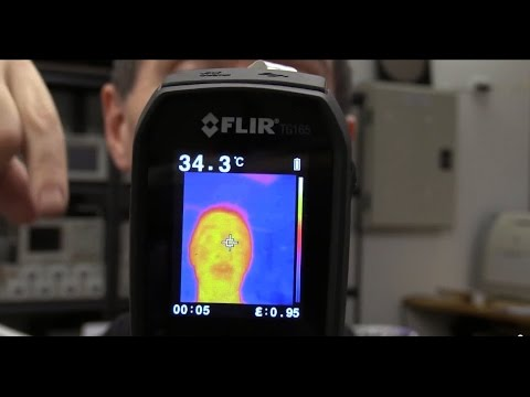 EEVblog #669 - FLIR TG165 Thermal Imager Teardown