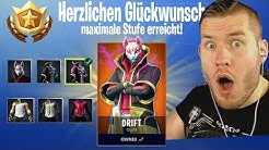 MAXIMALE STUFE in Fortnite freigeschaltet! Season 5 Drift SKin