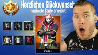 MAXIMUM STUFE unlocked in Fortnite! Season 5 Drift SKin
