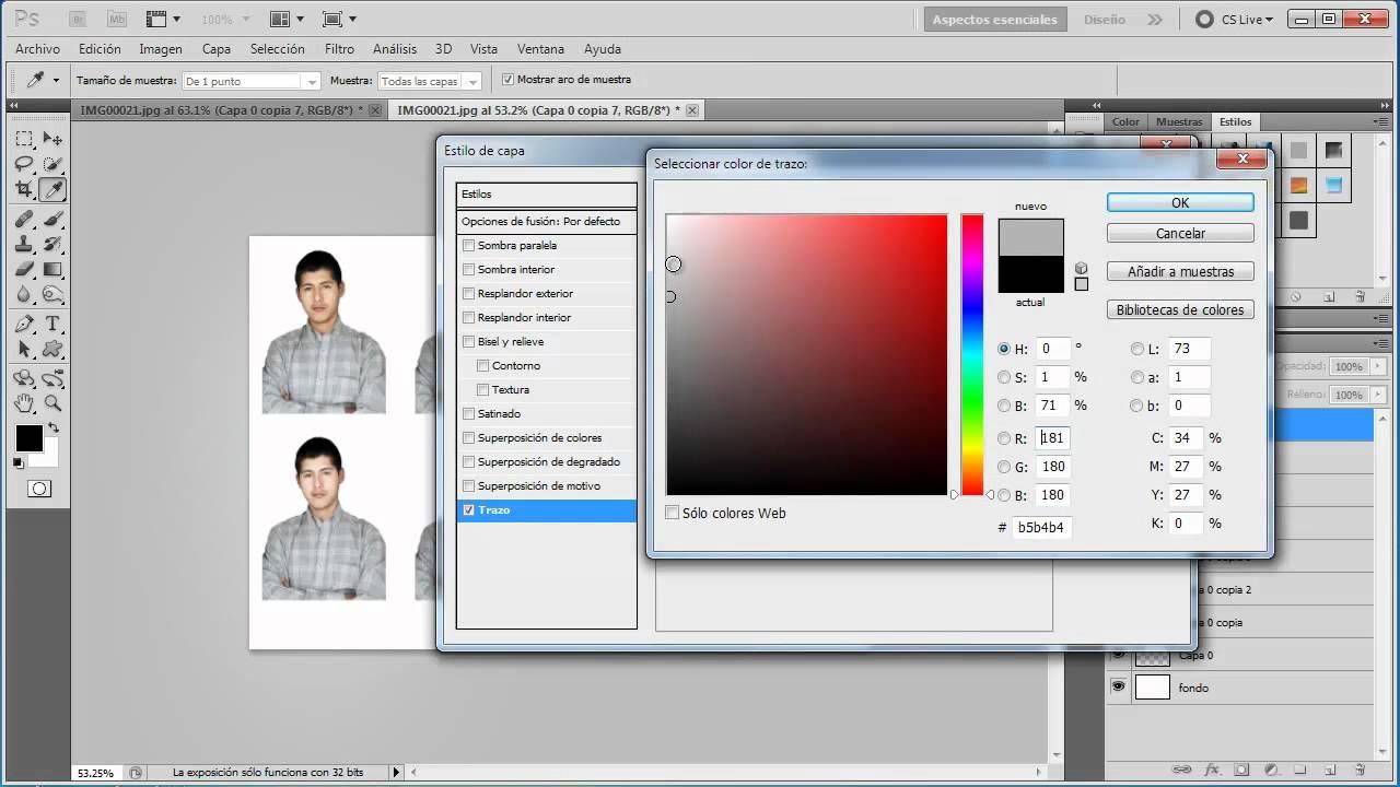 Cómo Editar e imprimir una fotografía en tamaño pasaporte - Tutorial ...