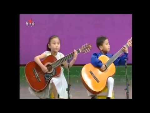 north korean kids playing guitar amazing skills 2013 song youtube. Black Bedroom Furniture Sets. Home Design Ideas