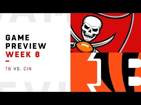 Tampa Bay Buccaneers vs. Cincinnati Bengals | Week 8 Game Preview | NFL Playbook