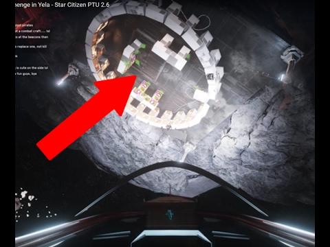 Finding The Big Benny Stonehenge in Yela - Star Citizen PTU 2.6  w. Monstar Shipping Line