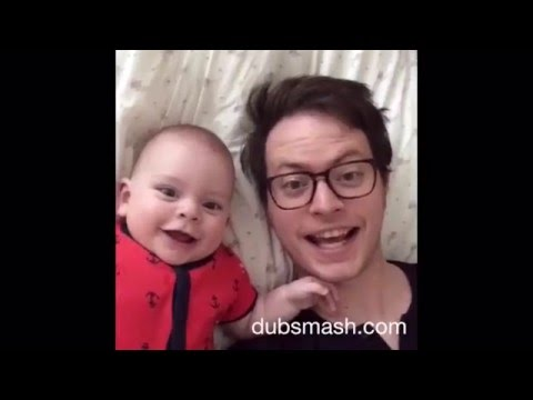 WATCH: Dad's Creative Baby