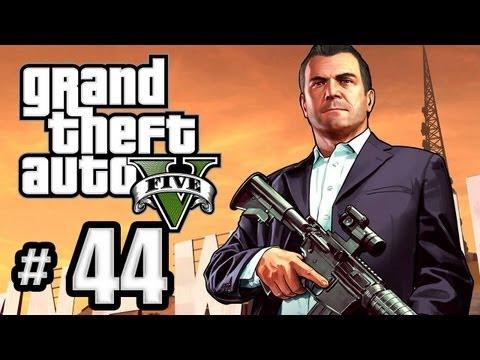 Grand Theft Auto 5 Gameplay Walkthrough Part 44 - Planning the Big Score