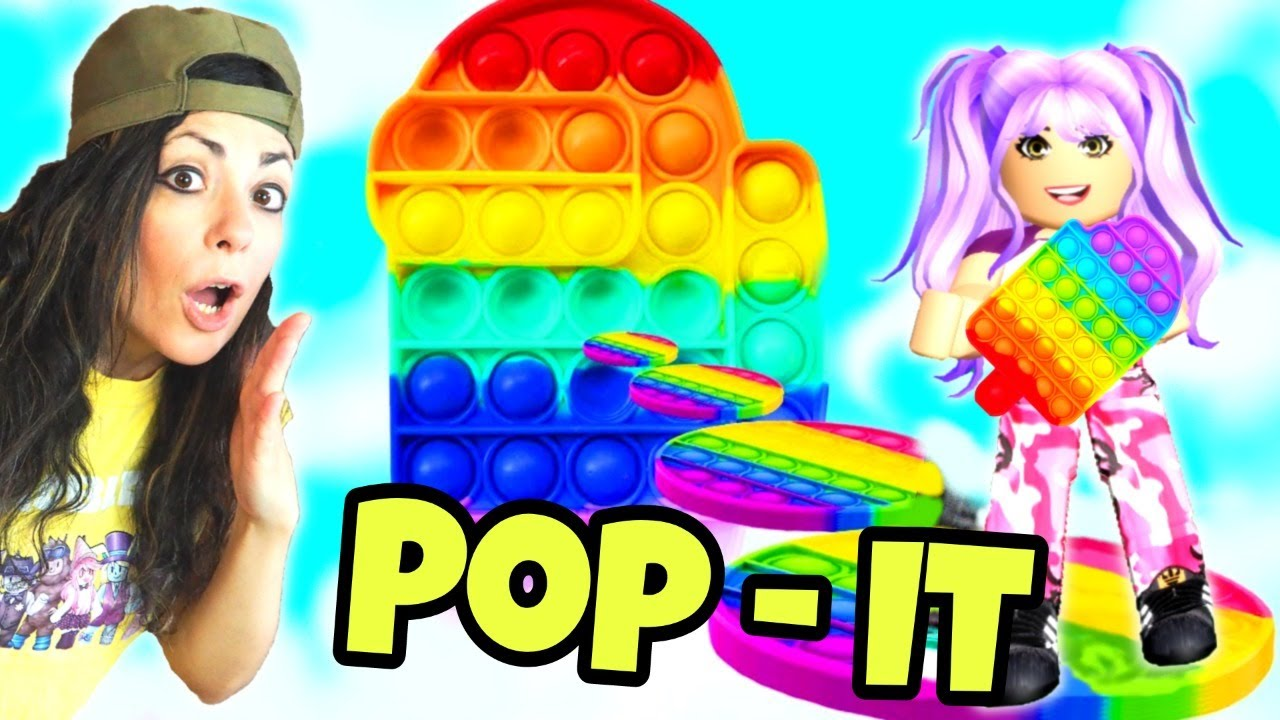 O SCHIACCI O SCAPPI -  POP IT CHALLENGE ROBLOX - SYL PLAYS ROBLOX