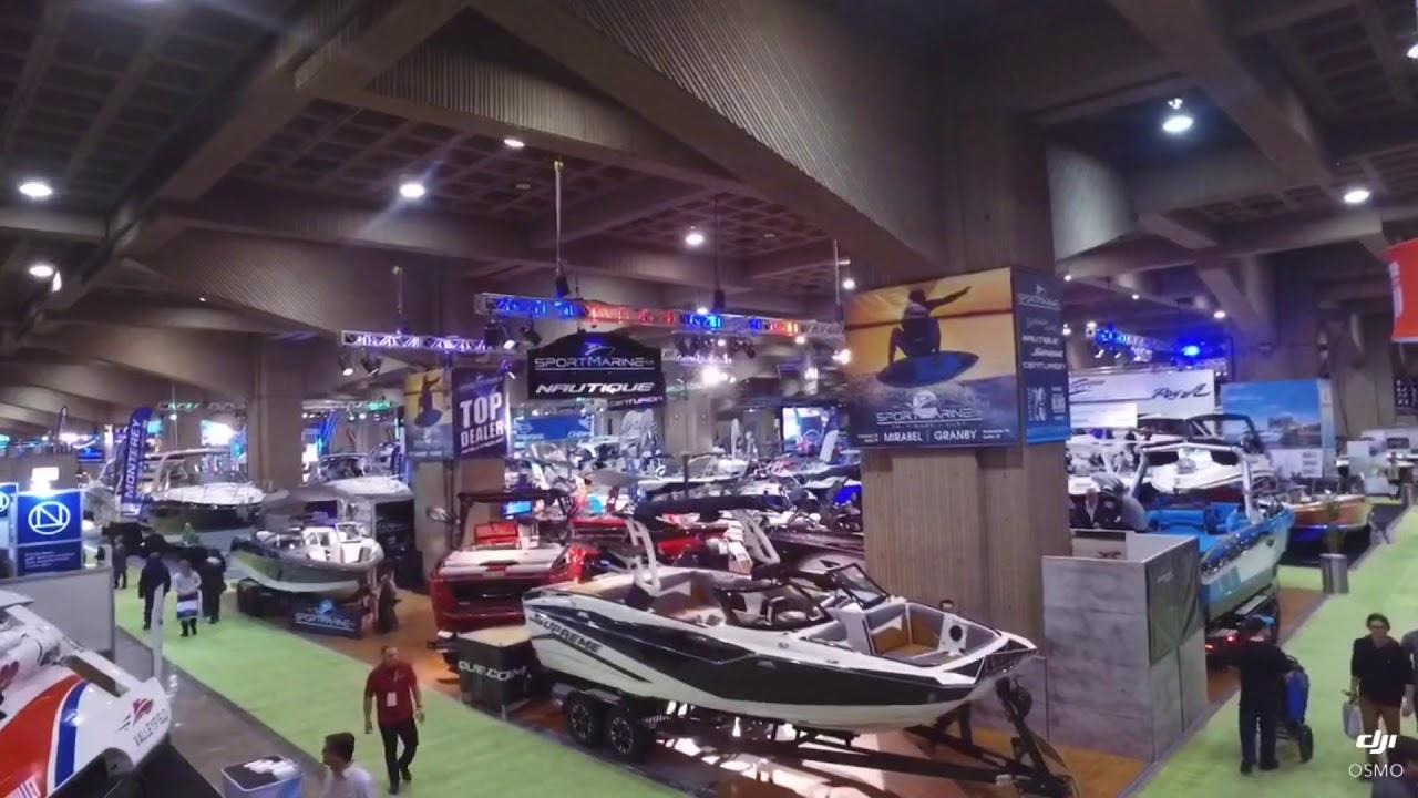 Salon du bateau de Montréal 2019 - sportmarine.ca