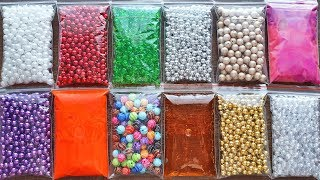 Mega Crunchy Slime with Too Many Beads