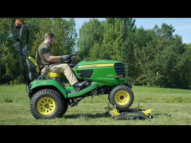John Deere | X949 Drive over Mower Deck