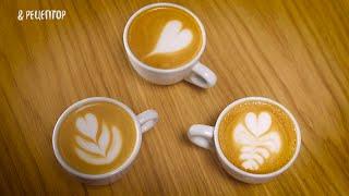 Секреты создания рисунка на кофе [ Рецепты от Рецептор ]