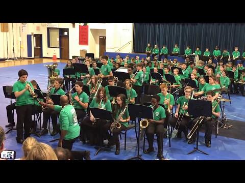 River Rat Shuffle - Crabapple Middle School Jazz Band