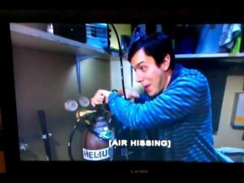 The Big Bang Theory: Sheldon on Helium