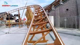 DRAKEN Roller Coaster POV Premier - Energylandia Amusement Park Poland