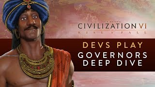 Video Civilization VI: Rise and Fall - Devs Play India (Governors Deep Dive) download MP3, 3GP, MP4, WEBM, AVI, FLV Januari 2018