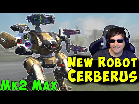 NEW Robot CERBERUS Mk2 Max Gameplay - War Robots [5.7] WR