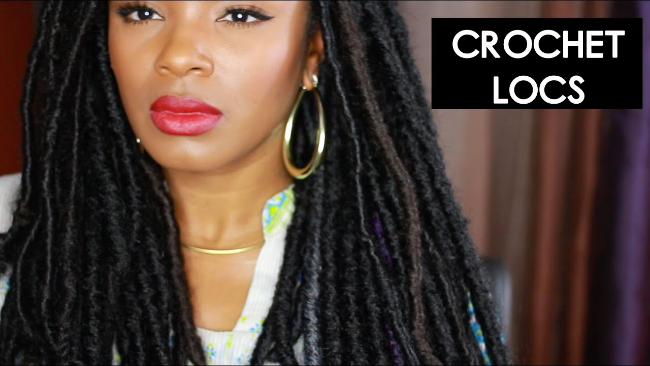 Crocheting Locs : BOMBA DREADLOCKS CROCHET BRAIDS NATURAL LOOKING - YouTube