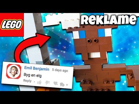 BYGGER DEN MANDIGE ELG AF LEGO - Reklame
