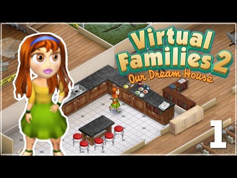Adopting a Little Lost Pixel Person • Virtual Families 2 - Episode #1