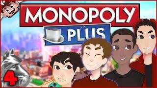 THE MONOPOLY CRASH! (Monopoly Plus w/ The Derp Crew - Part 4)